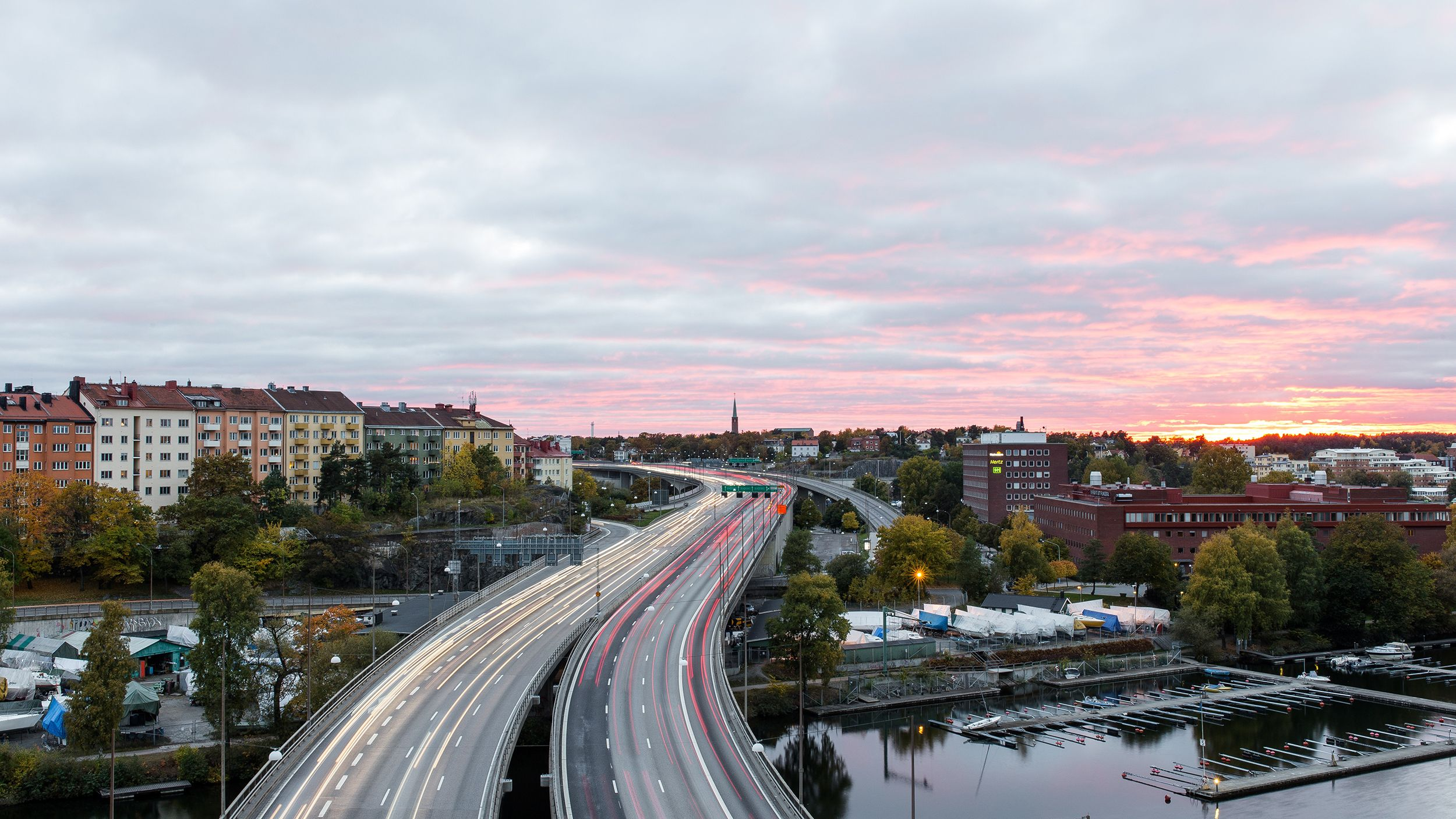 Photograph of Stockholm Road to Södermalm